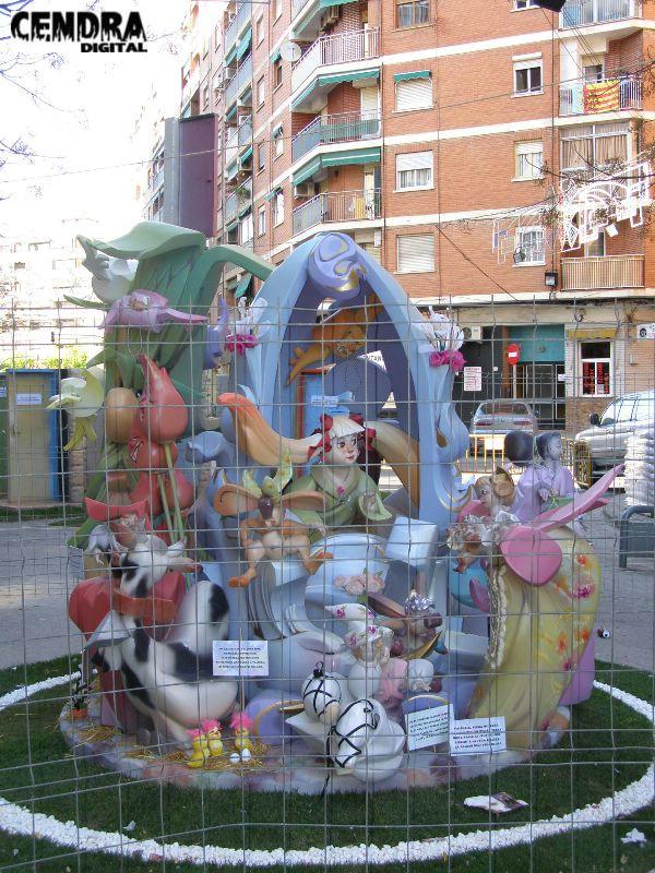 327-Pintor Pascual Capuz- Fontanares infantil