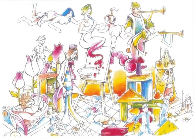 318 Bocetos infantil - Lema (Sommis de Colors) Daniel Barea
