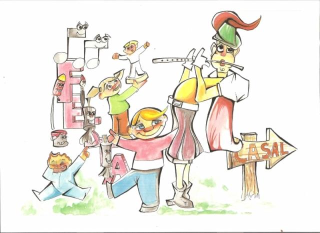 360 Boceto infantil - Lema (La festa dels xiquets) Juan Lluch