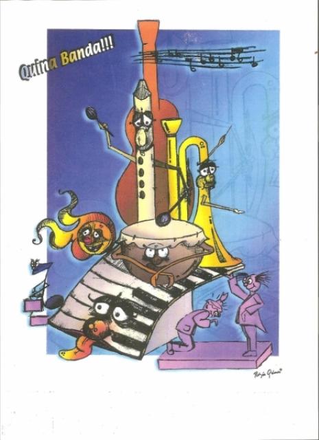 360 Boceto mayor - Lema (Quina banda) Sergio Fandos