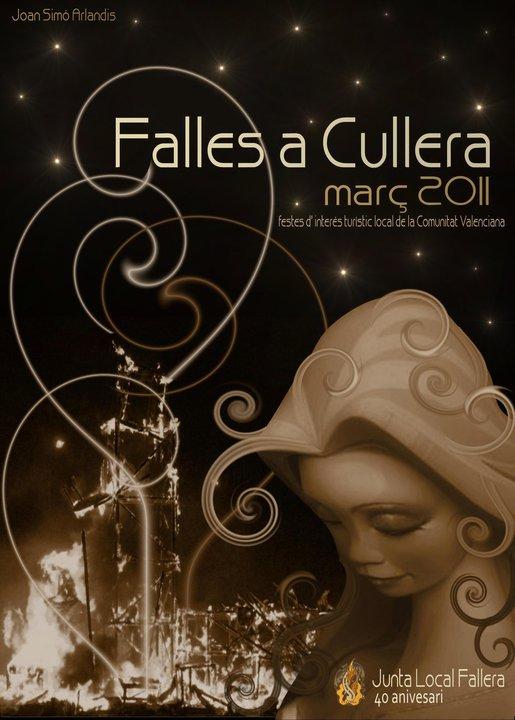 Cartel Fallas Cullera 2011