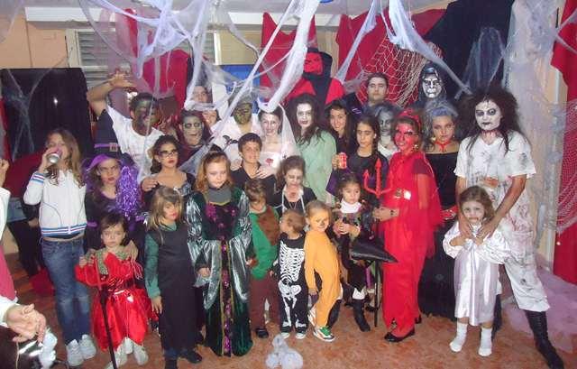 Foto de grupo Halloween 2010