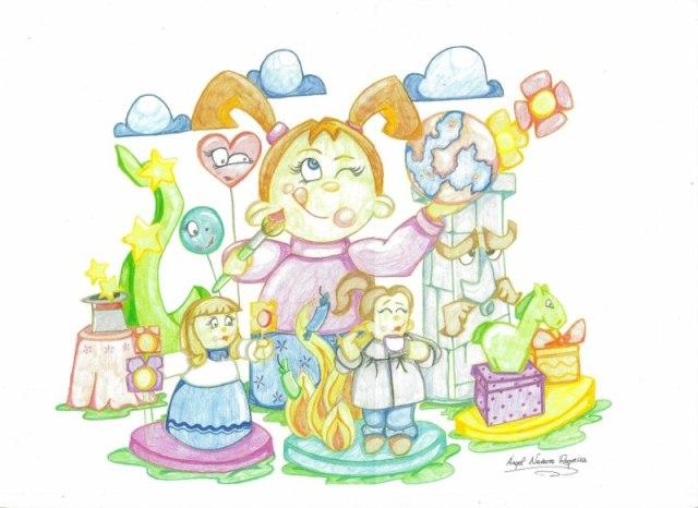 Boceto infantil zapadores 2011