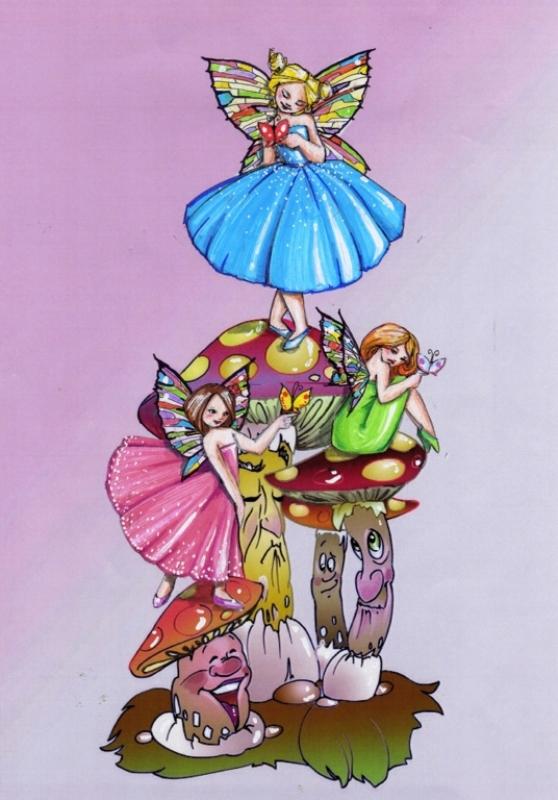 159 Boceto infantil Conte de Fades - Federico ontreras Huguet