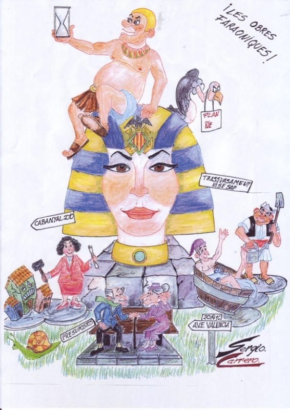 244 Boceto mayor - !Les obres Faraoniques! - Sergio Carrero