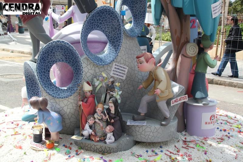 Falla Malvarrosa infantil 2011 (11)