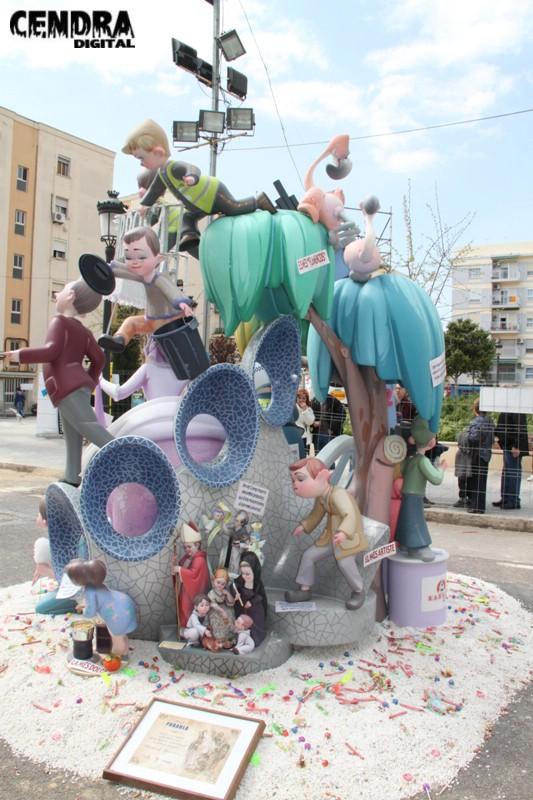 Falla Malvarrosa infantil 2011 (13)