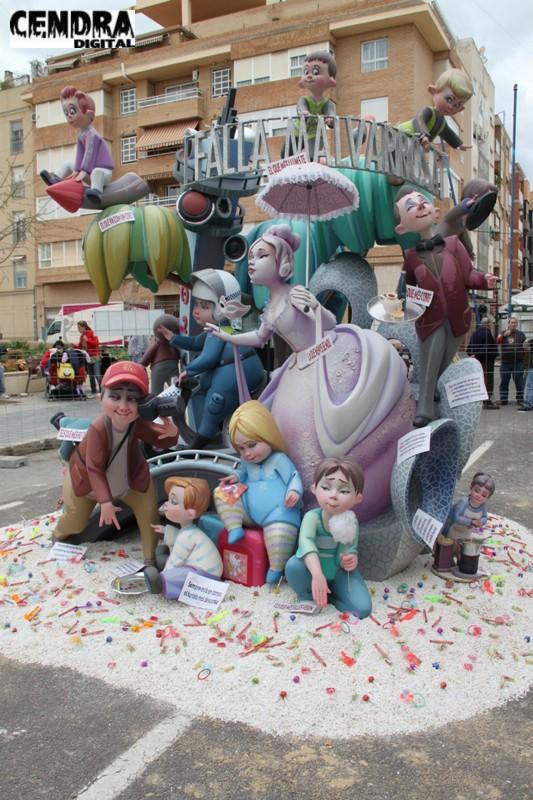Falla Malvarrosa infantil 2011 (17)