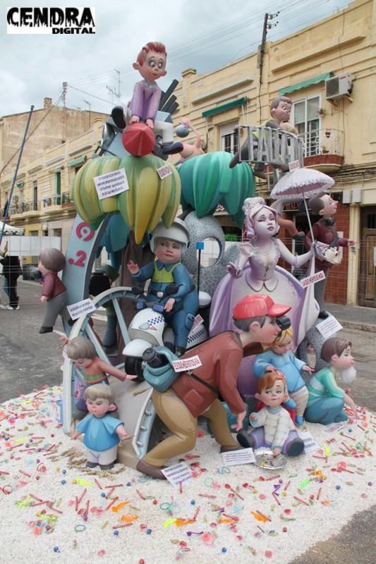 Falla Malvarrosa infantil 2011 (2)