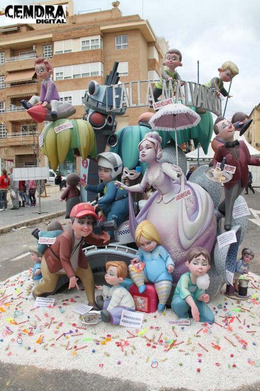 Falla Malvarrosa infantil 2011 (24)