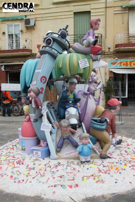 Falla Malvarrosa infantil 2011 (4)
