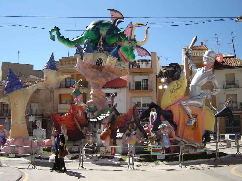 falla Plaza San Juan Utiel 1er premio