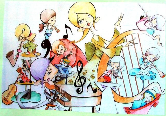 Boceto 2012 Falla infantil Soto Mico