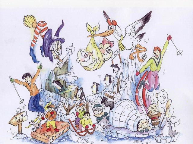 boceto 2012 falla infantil ministro luis mayans