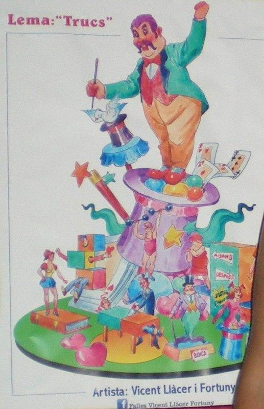 Boceto 2012 Falla grande Horno de Alcedo 2