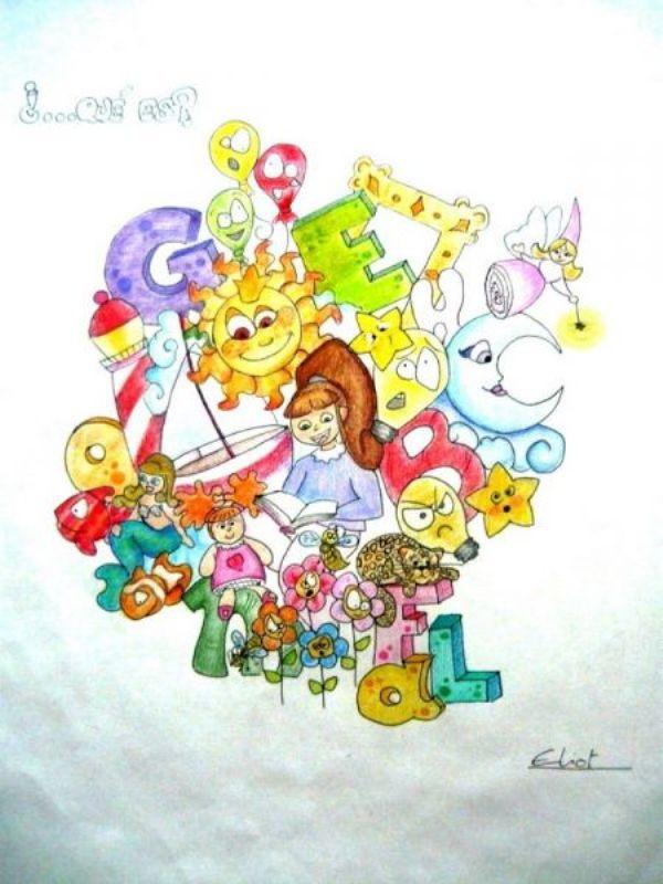 Boceto Lillo Juan infantil 2011