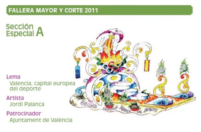 Carrozas Batalla Flores Valencia 2011 (1)