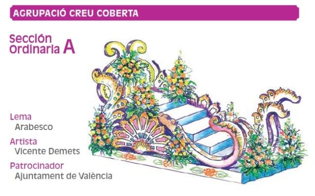 Carrozas Batalla Flores Valencia 2011 (13)