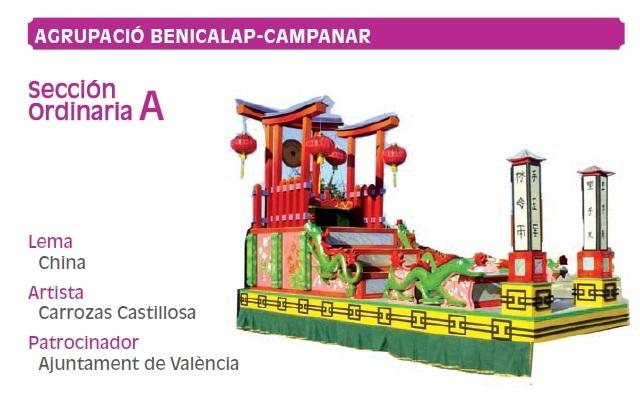 Carrozas Batalla Flores Valencia 2011 (16)