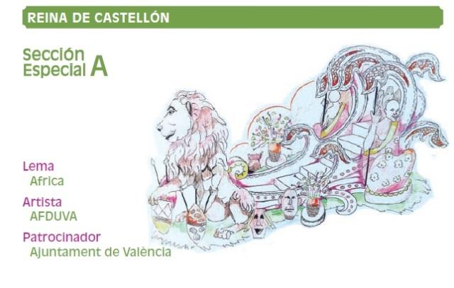 Carrozas Batalla Flores Valencia 2011 (2)