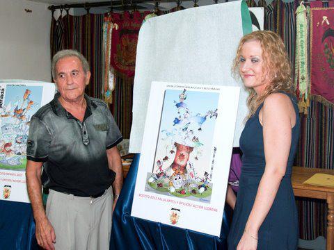 Boceto Falla Artes y Oficios 2012 2