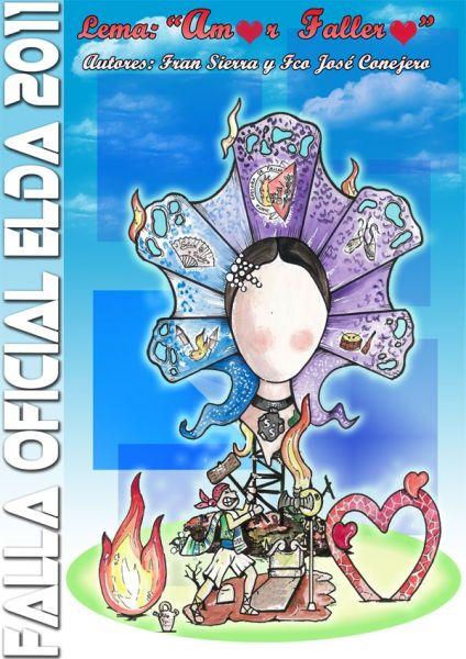 Boceto Falla Oficial Elda 2011