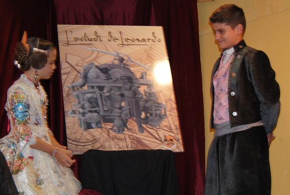 Boceto infantil Mercado de Castilla