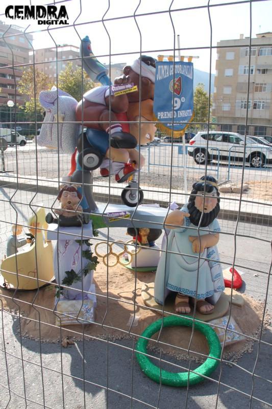 Falla infantil Ronda San Pascual (1)