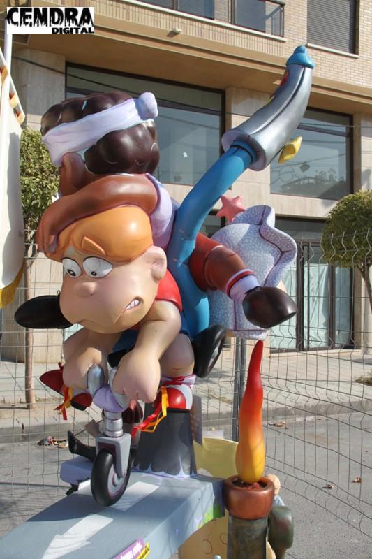 Falla infantil Ronda San Pascual (4)