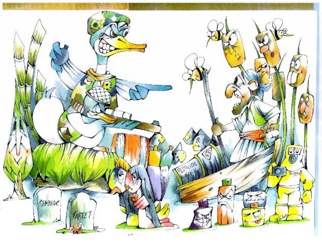 Boceto Falla Maestro Arambul 2012