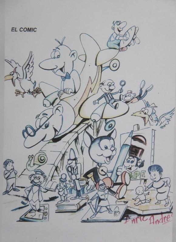 Boceto Falla infantil Benimodo 2012