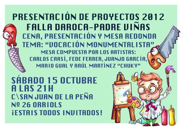 NOTA PRESENTACIONDAROCA2012