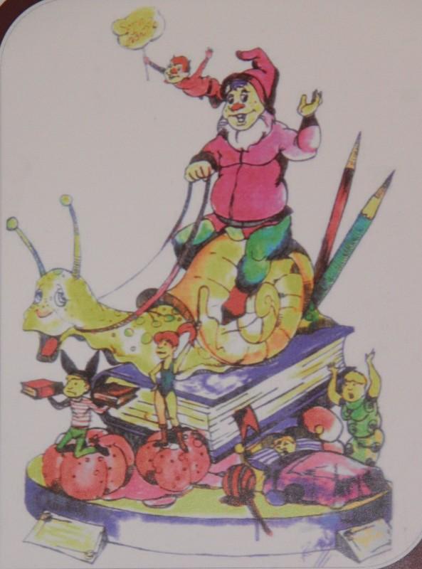 02-Boceto Falla infantil Murillo