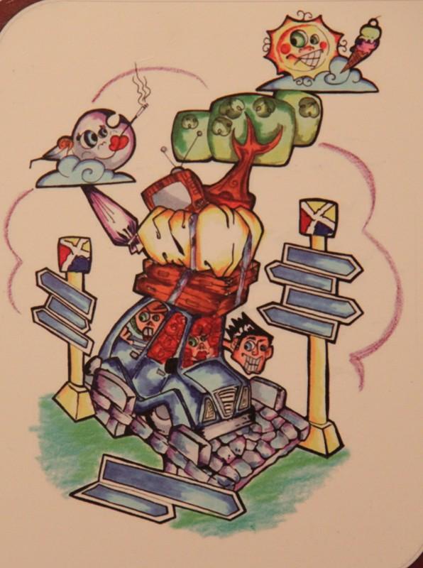 06-Boceto Falla Triador infantil