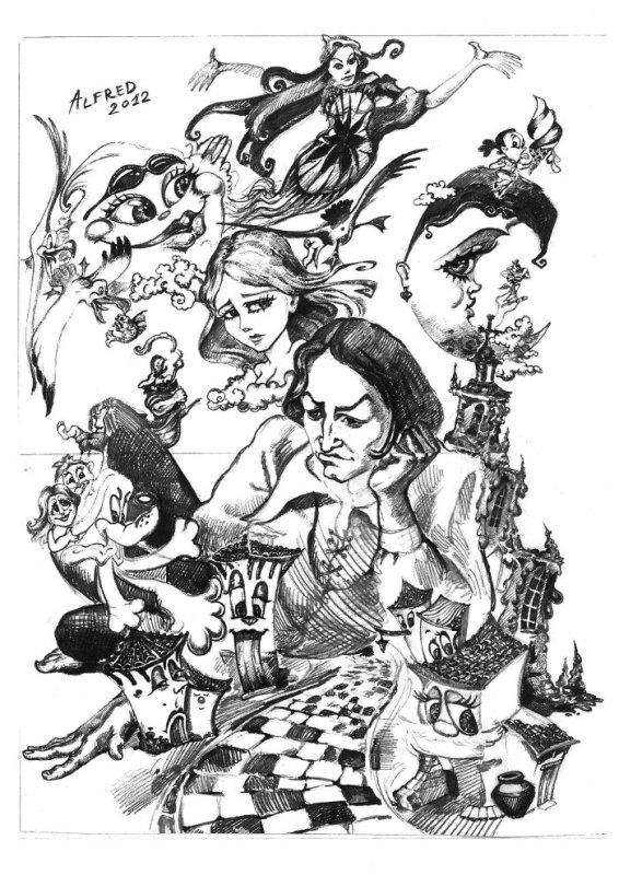 Boceto Falla El Prado