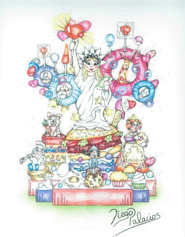 Boceto Falla infantil Grabador Jordan 2012