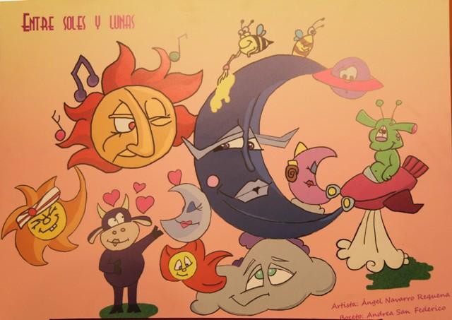 Boceto Falla infantil Zapadores 2012