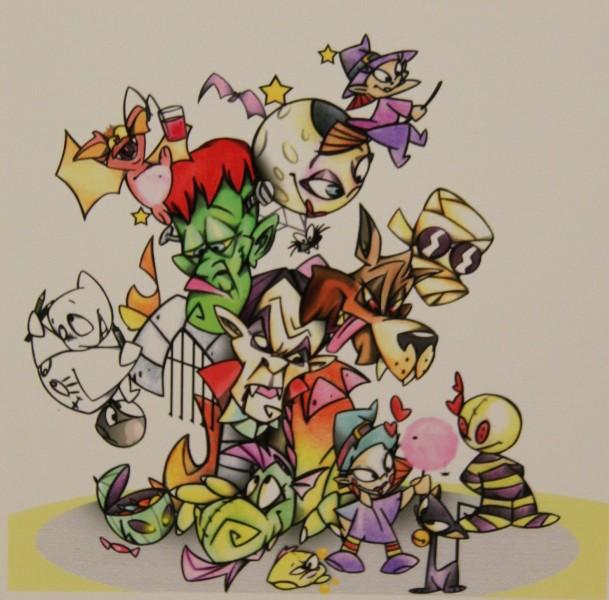 Bocetos Fallas Benicalap Campanar 2012 (10)