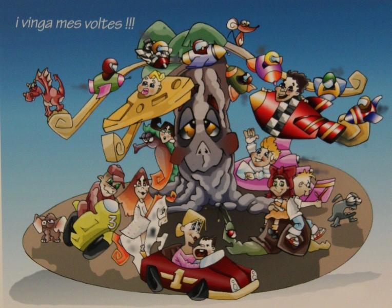 Bocetos Fallas Benicalap Campanar 2012 (12)