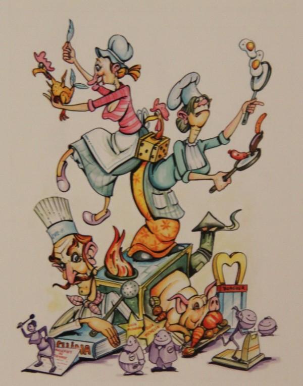 Bocetos Fallas Benicalap Campanar 2012 (15)