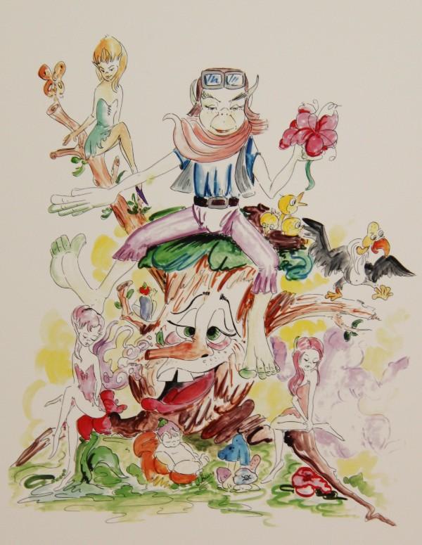 Bocetos Fallas Benicalap Campanar 2012 (33)