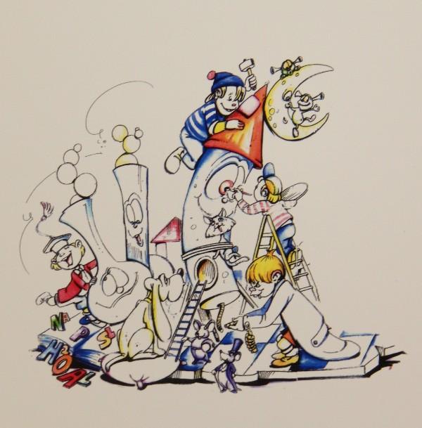 Bocetos Fallas Benicalap Campanar 2012 (44)