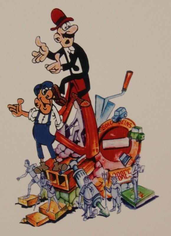 Bocetos Fallas Benicalap Campanar 2012 (7)