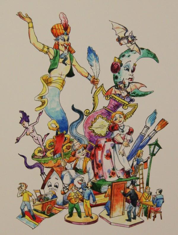 Bocetos Fallas Benicalap Campanar 2012 (9)