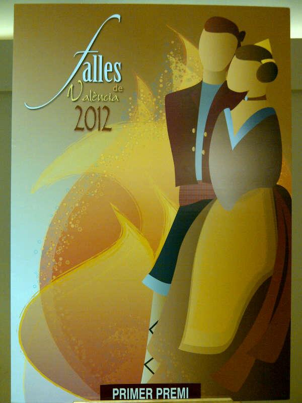 Cartel Fallas Valencia 2012