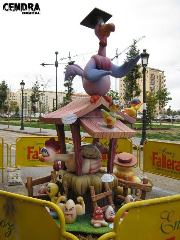 14-295-Camino de Moncada- Pintor Jacomart infantil