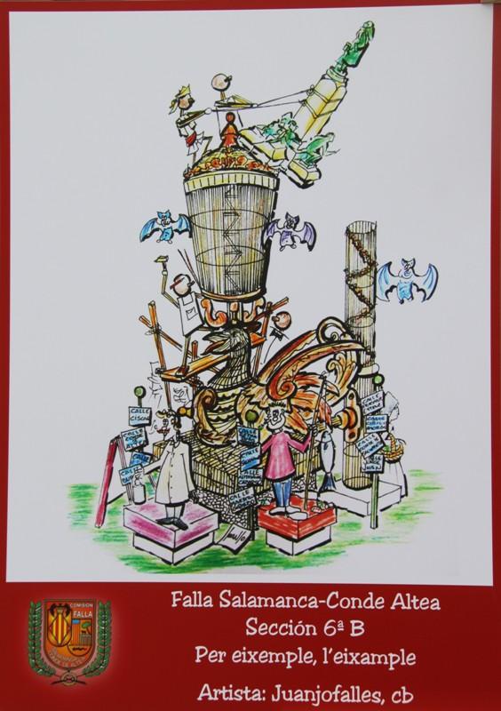 Boceto Falla Agrupacion Gran Via (19)