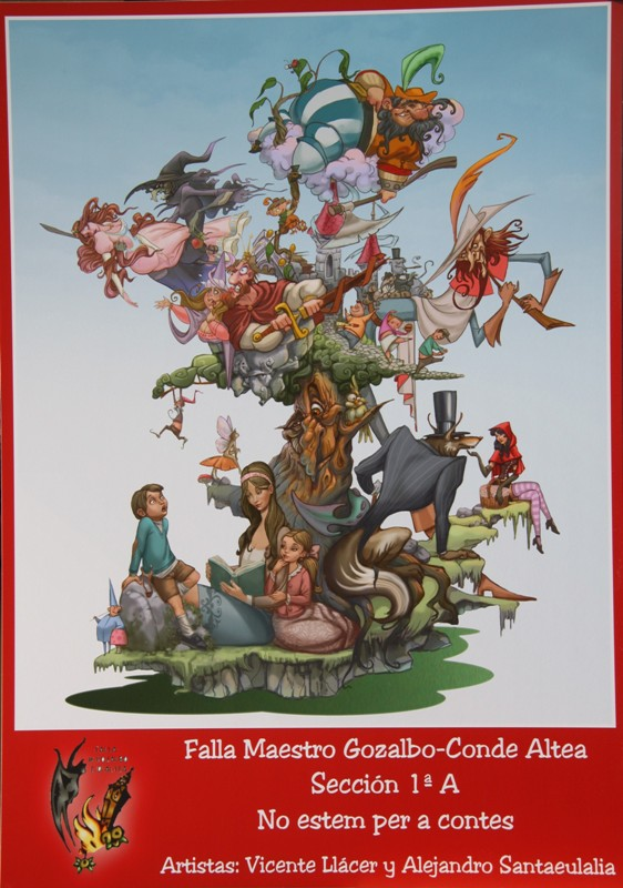 Boceto Falla Agrupacion Gran Via (21)