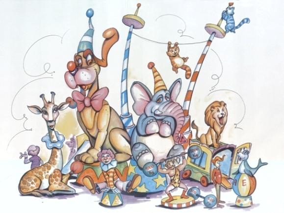 Boceto Falla infantil Isaac Peral 2012
