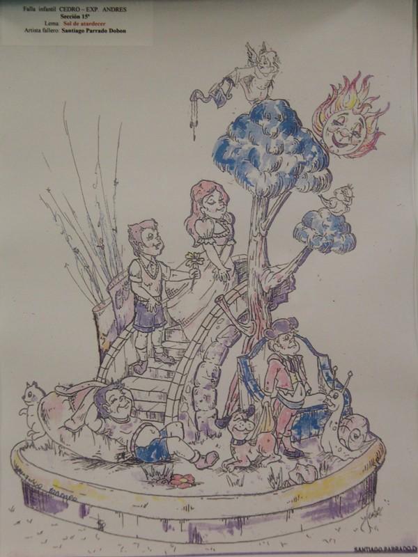Bocetos Fallas Algiros (11)